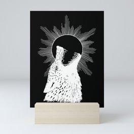 Skoll Chasing the Sun Mini Art Print