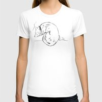 shiba T-shirts featuring Shiba Inu by Cassandra Jean