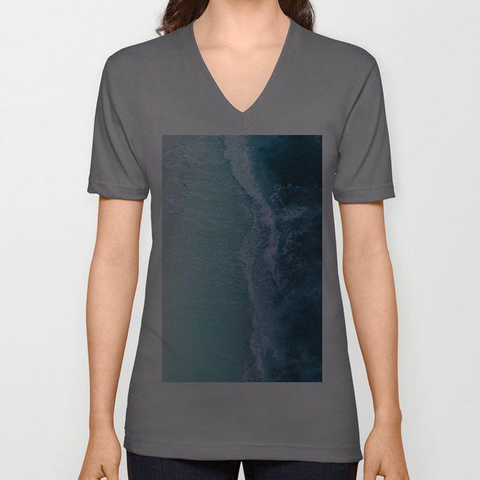 Turquoise Sea Unisex V-Ausschnitt
