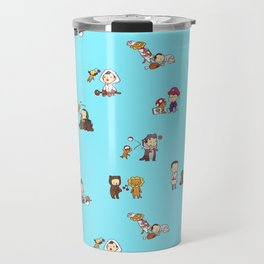 Adventures with Alistair and Guardian Lion-O Travel Mug