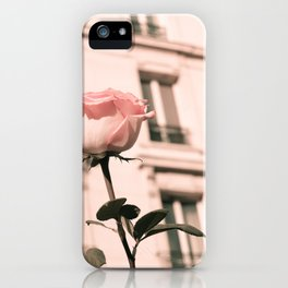 Paris in Blush Pink II iPhone Case