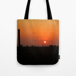 Sunset Beach lv Tote Bag