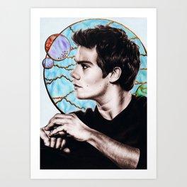 Dylan O'brien Art Print
