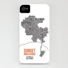 Sunset Boulevard iPhone (4, 4s) Slim Case