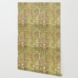 Gold Celtic Knot Square Wallpaper