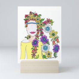 Eighties Girl Mini Art Print