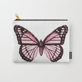 Monarch Butterfly Pink Dream Carry-All Pouch