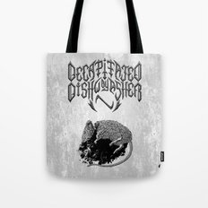 Decapitated by dishwasher I (white) Tote Bag