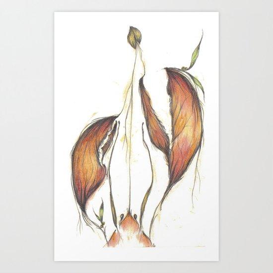 Lobster Tales Art Print