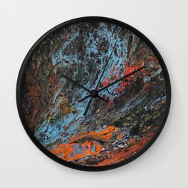 Eternal Flames Wall Clock