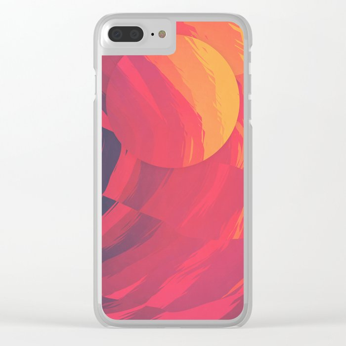 Unbearable Heat Clear iPhone Case