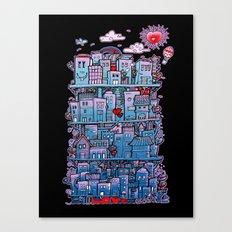 Happy City Canvas Print