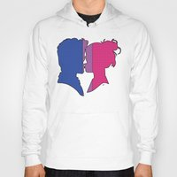 bisexual Hoodies featuring Bisexual Love by Winter Graphics
