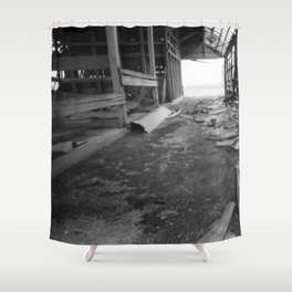 Rural Rot Shower Curtain