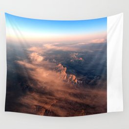 Sky High Sunrise Wall Tapestry