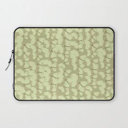 Butterflies Green Vintage Laptop Sleeve