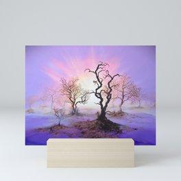 Dioxazine Dawn Mini Art Print