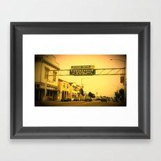 Castroville, California Framed Art Print