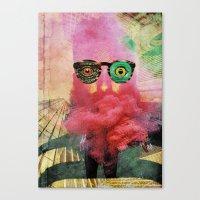 weird Canvas Prints featuring weird by Monsieur Hubert