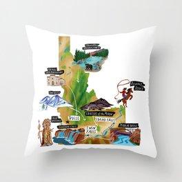 Welcome To Idaho Throw Pillow