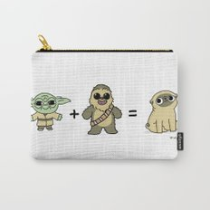 The origin of pugs Carry-All Pouch