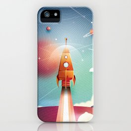 Colour Rocket iPhone Case