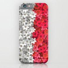 Boundary Flowers Slim Case iPhone 6s