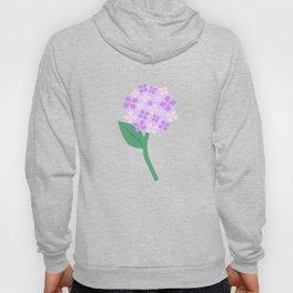 Purple Pink Hydrangeas Hoody