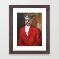 I'm A Foxy Lord Framed Art Print