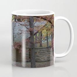 Autumn in Eagle Point Park, Dubuque, Iowa Coffee Mug