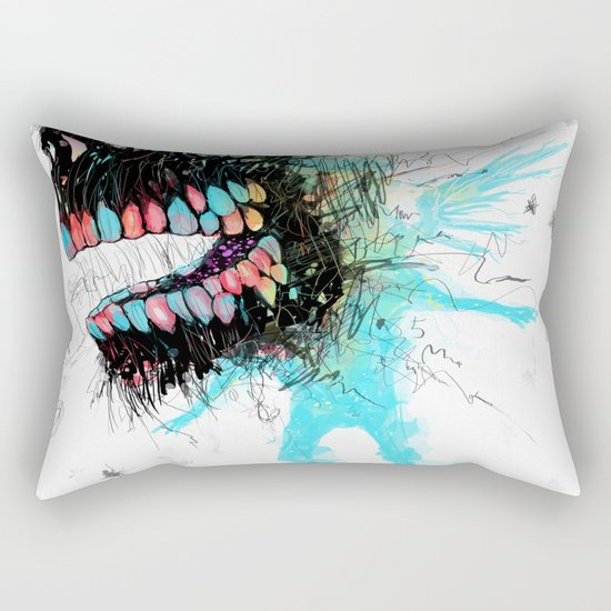 Mordisco Rectangular Pillow