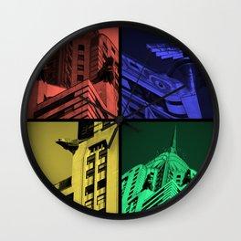 Chrysler Pop Art Wall Clock