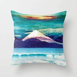 Living Rapture in Yeno Throw Pillow