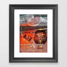 Bonobo Zen Framed Art Print