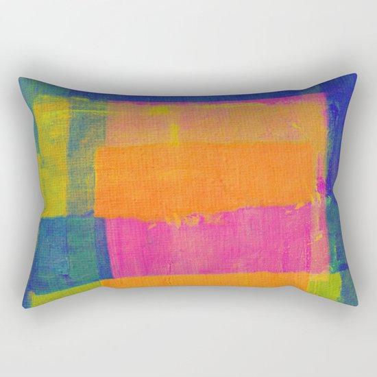 """Passaredo"" Inspired by the Chico Buarque music. Rectangular Pillow"