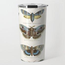Vintage Moth Chart Travel Mug