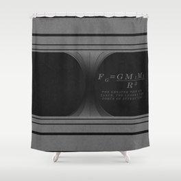 Black Hole. Shower Curtain