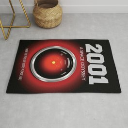 2001 A Space Odyssey - Alternative Movie Poster Rug