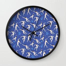 Modern pattern-Matisse-Dance. Wall Clock