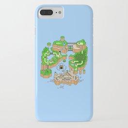 Super Mario World Map iPhone Case