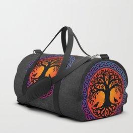 Viking Yggdrasil World Tree Duffle Bag