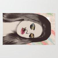 lana Area & Throw Rugs featuring LANA #2 by Vita♥G