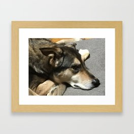 People Let Me Tell You 'Bout My Best Friend Framed Art Print
