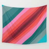cracked Wall Tapestries featuring Cracked  by K I R A   S E I L E R