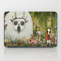 captain silva iPad Cases featuring Silva by Katy Davis