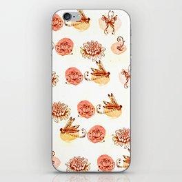 garden pattern iPhone Skin