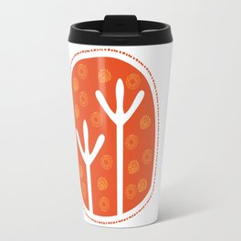 Emu Tracks Australian Aboriginal Style 1 Travel Mug