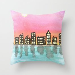 skyscapes 18 Throw Pillow