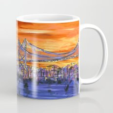 Ben Franklin Bridge Sunset Mug