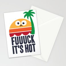 Heated Rhetoric Stationery Cards